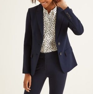 Gap Blazer with Polka Dot Sleeve Lining